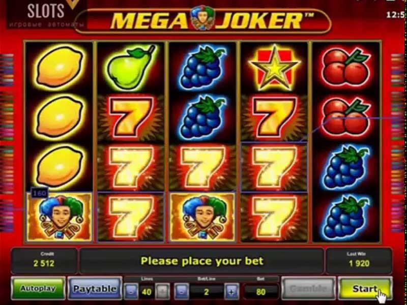 игровые автоматы tricks joker