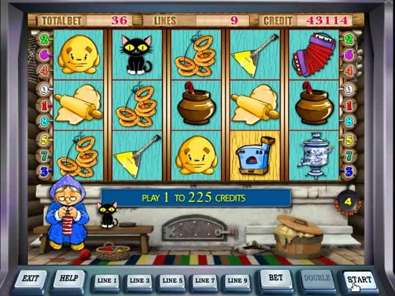 Игровые аппараты колобок и бабка лотос онлайн казино